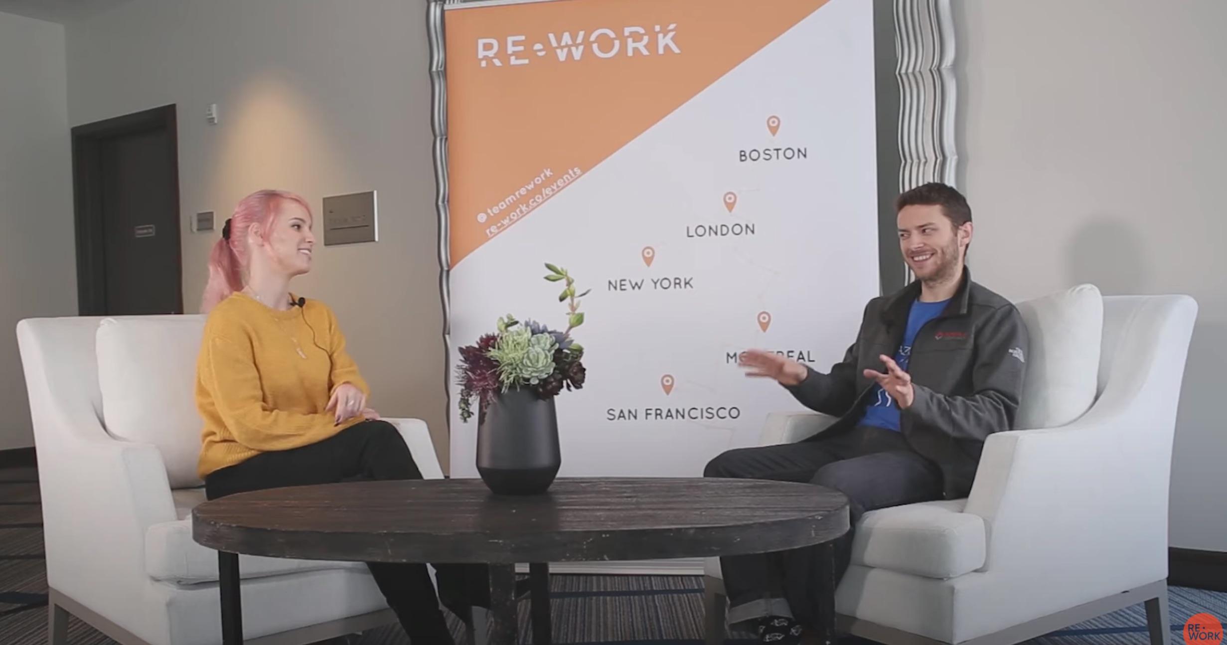 Adrien Gaidon interview at the re:work DL summit - 2019
